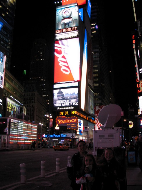 times-square-evening